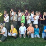 Canoe Merit Badge Camp