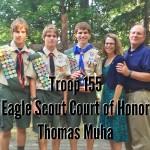Congratulations Tommy Muha!