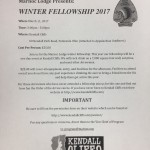 Winter OA Lodge Fellowship