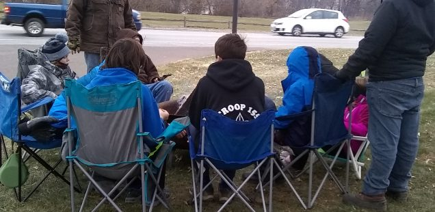 Campout for hunger