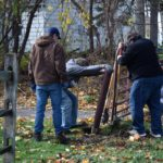 Eagle Project - Repairing the Church fence