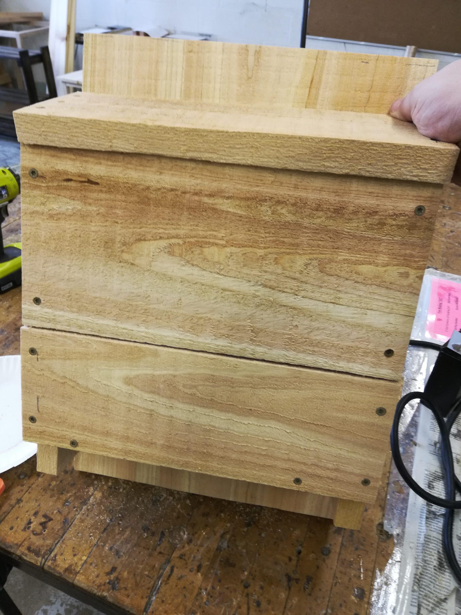 Unfinished Bat Box