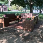 Eagle Project - New Bench behind the Church